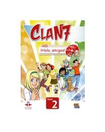 Clan 7. ¡Hola, amigos! 2. Õpik + CD