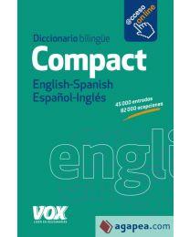 Compact. Inglise-hispaania / hispaania-inglise sõnaraamat