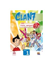 Clan 7. ¡Hola, amigos! 1. Õpik + CD