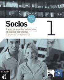 Socios 1. Hispaania ärikeele töövihik algajatele