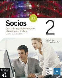 Socios 2. Hispaania ärikeele õpik edasijõudnutele