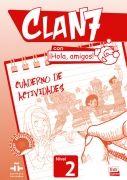 Clan 7. ¡Hola, amigos! 2. Töövihik + CD