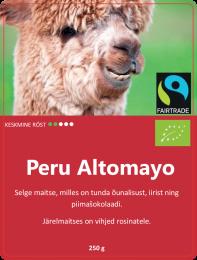 Peru Altomayo 250gr FaitTrade (Bio/Orgaaniline)