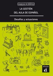 La gestión del aula de español. Desafíos y actuaciones