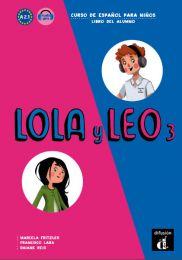 Lola y Leo 3. Õpik