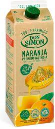 Don Simon 100% apelsinimahl viljalihaga - 2 l tertrapakis