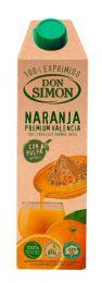Don Simon 100% apelsinimahl viljalihaga - 1 l tetrapakis