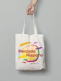 Mercado Hispano puuvillane kott