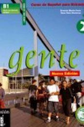 Gente 2. Hispaania keele õpik + CD tasemele B1 (edasijõudnud)