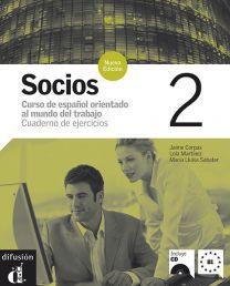 Socios 2. Hispaania ärikeele töövihik algajatele