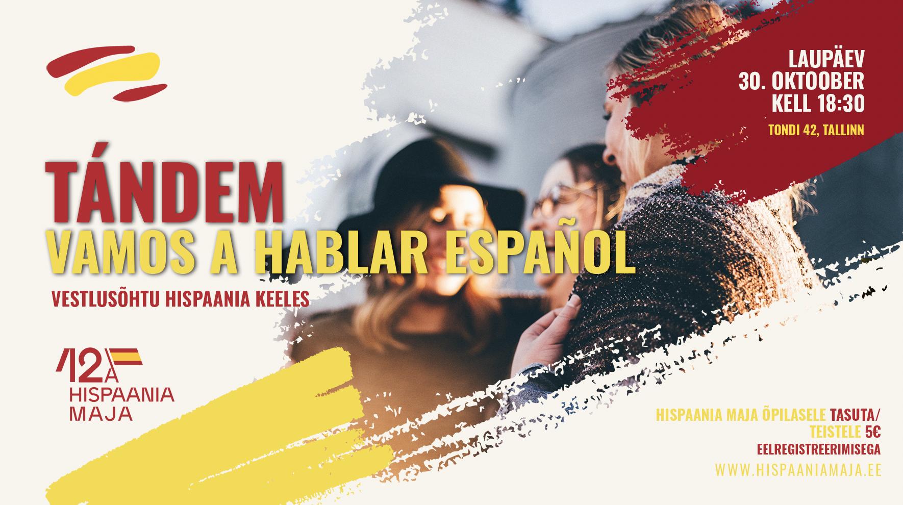 """Uus üritustesari """"Harjutame hispaania keelt!"""""""
